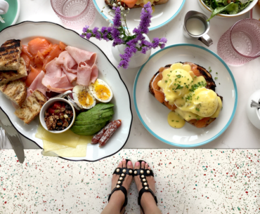 Cafe CanCan Toronto Review Pearl Sandals