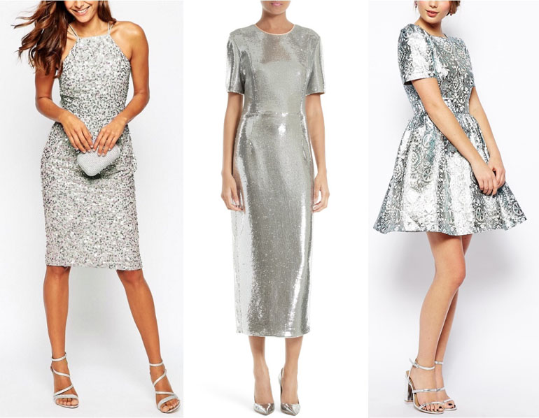 Grey Silver Dress What Shoe Color