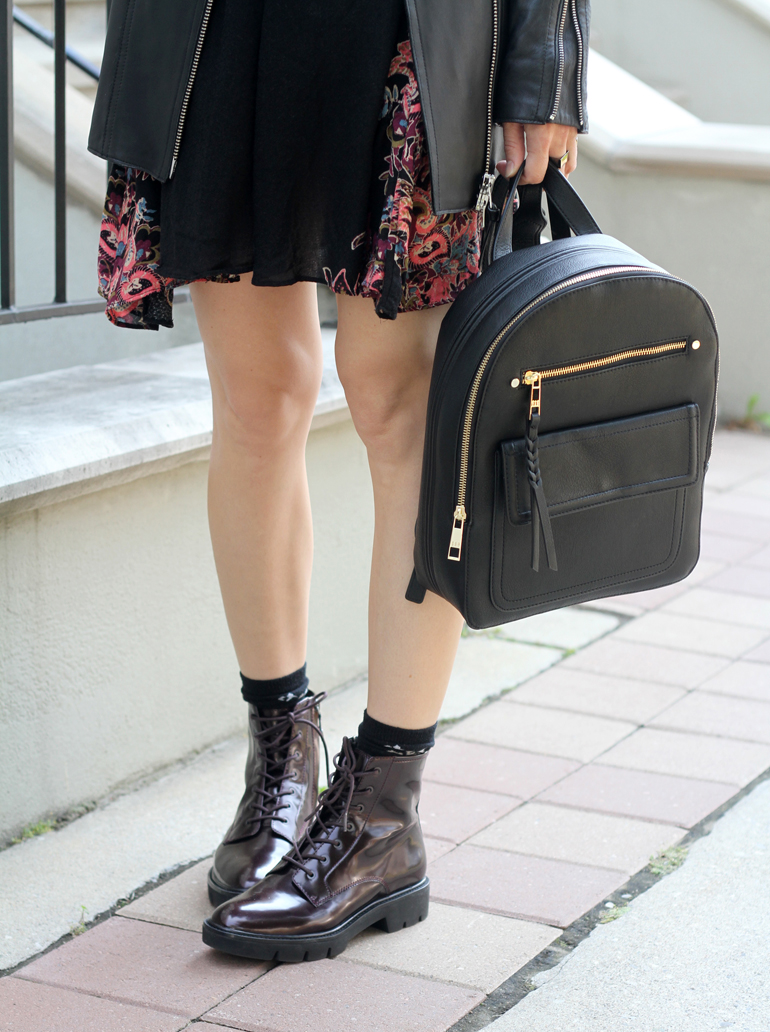 Styling Geox S Adult Doc Martens With A Boho Dress