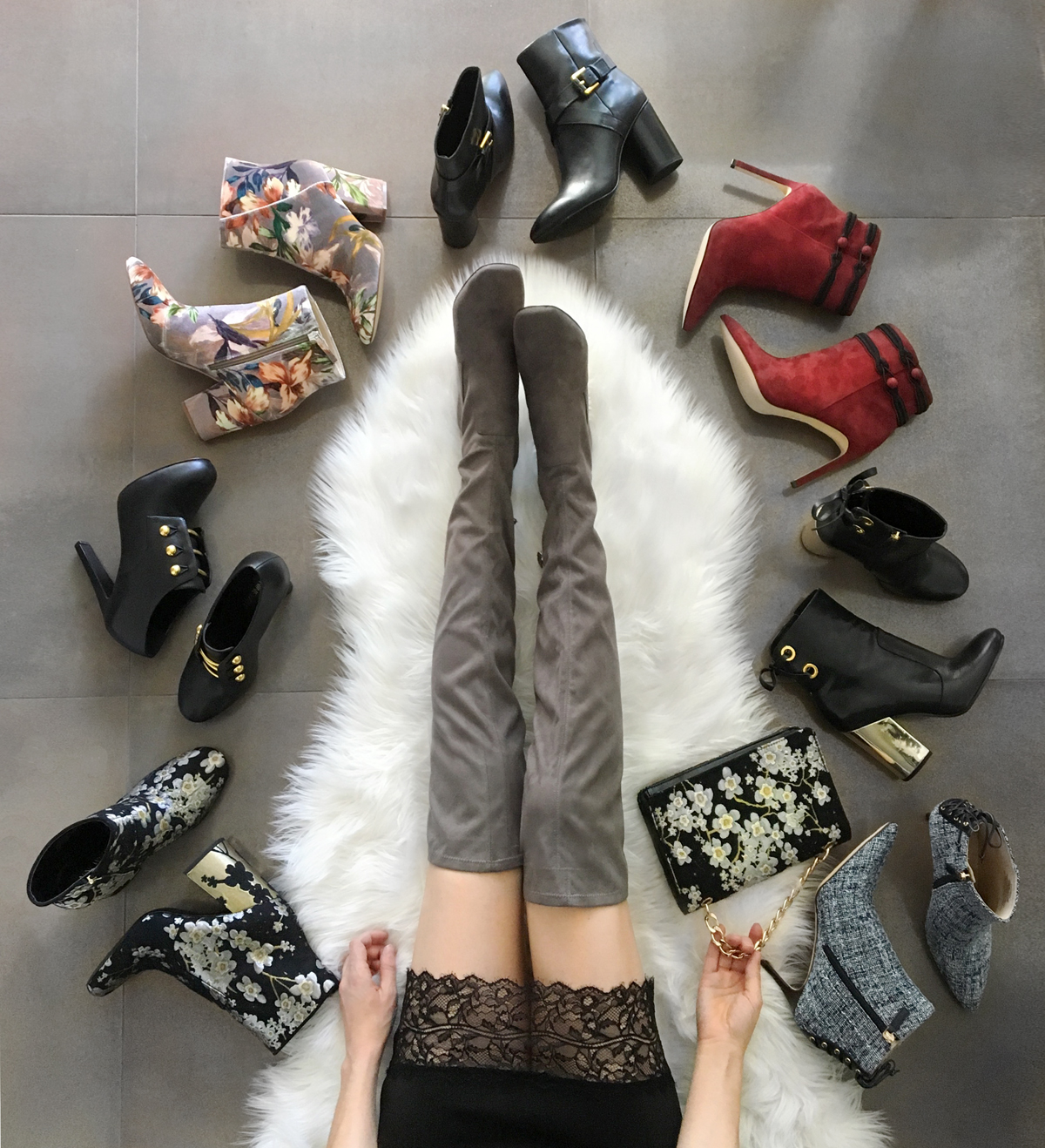 Nine West Fall 2017 Boots Booties Trends