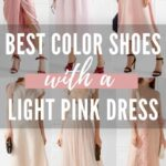 Different Color Shoes to Wear with Blush Dress