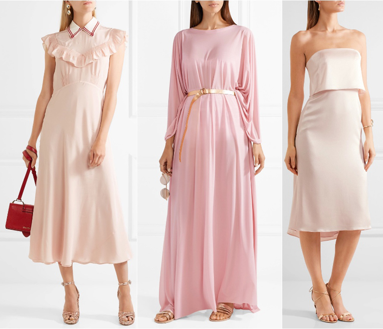 What shoes to wear with a rose gold dress style guru Colors that go with rose pink