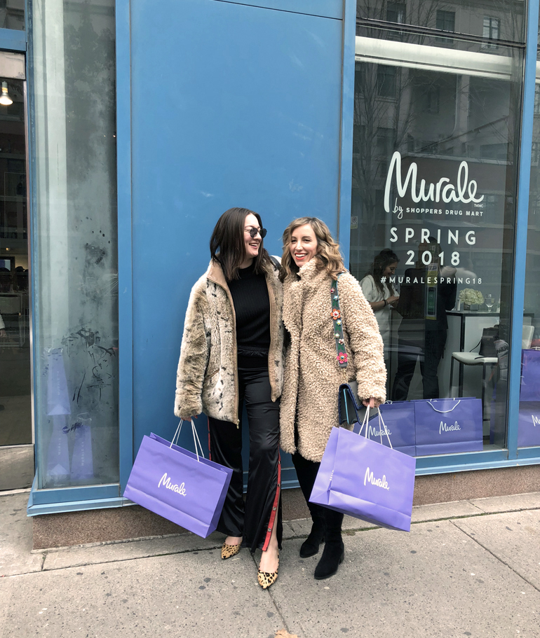 Murale Shoppers Drug Mart Spring 2018 New Beauty Products