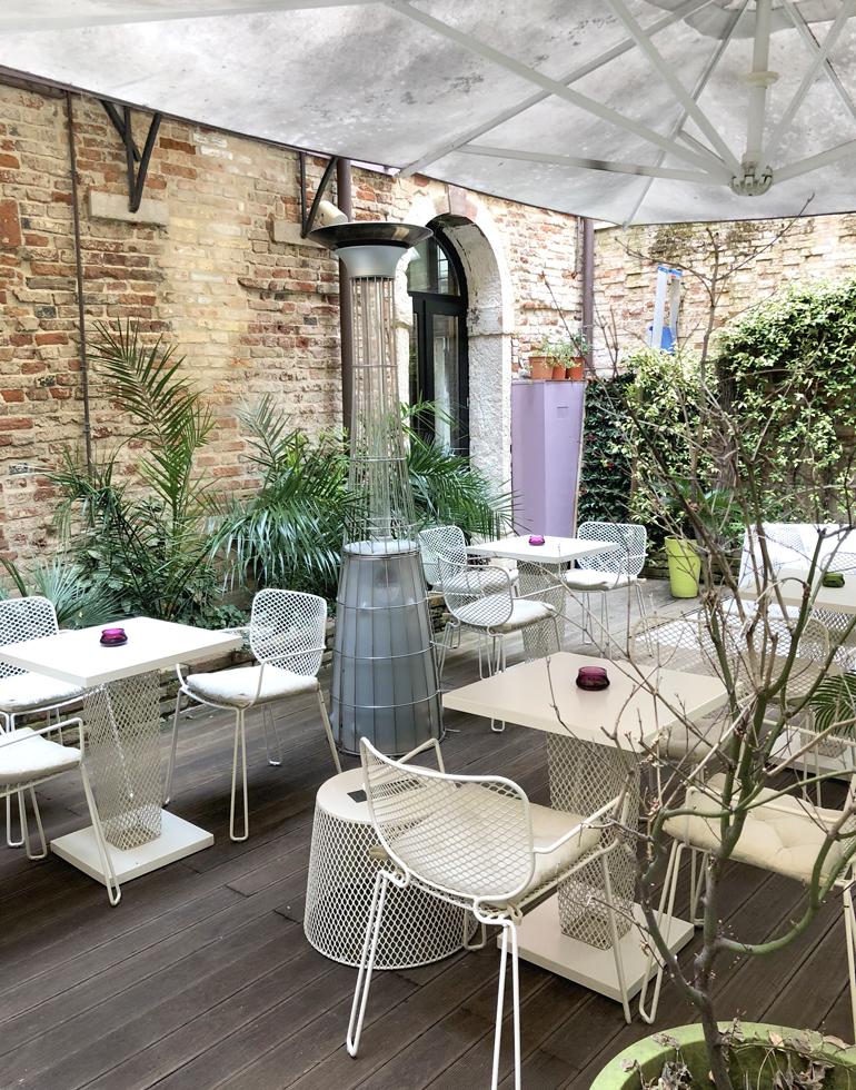 Boutique hotel in venice corte di gabriela review for Design boutique hotel venice