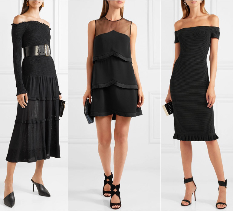 What Color Shoes To Wear With A Black Dress Shoetease Answers