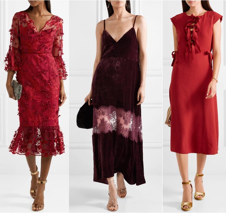 What Color Shoes to Wear with a Burgundy Dress   Burgundy Outfits cd0ba1d64