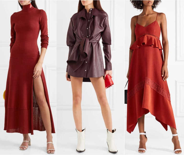 red dress white shoes What Color Shoes to Wear with a Burgundy Dress & Burgundy Outfits