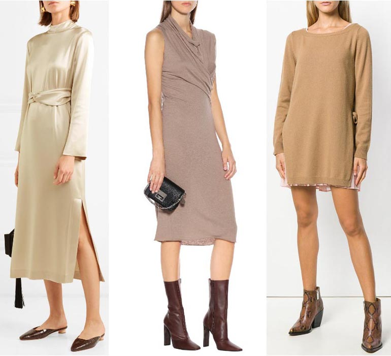 What Colors Go With Beige And Brown: What Color Shoes To Wear With A Beige Dress & Outfit