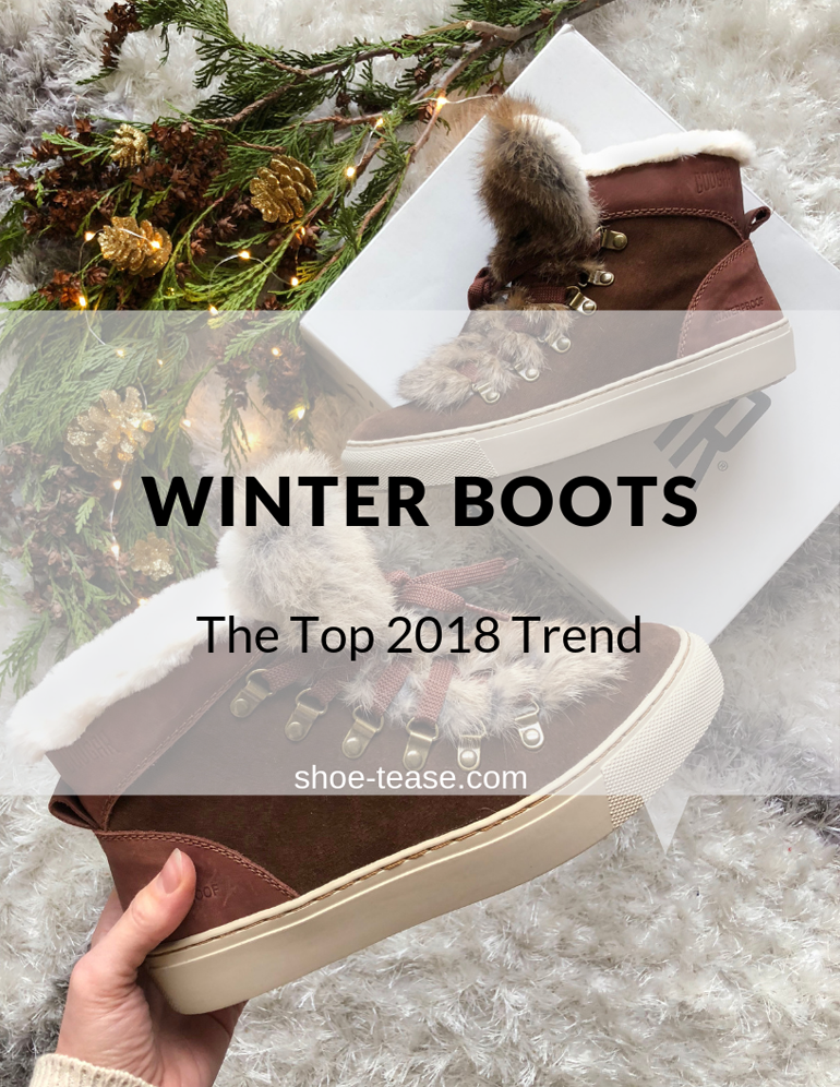 018 Winter Ankle Boots Shoe Trend