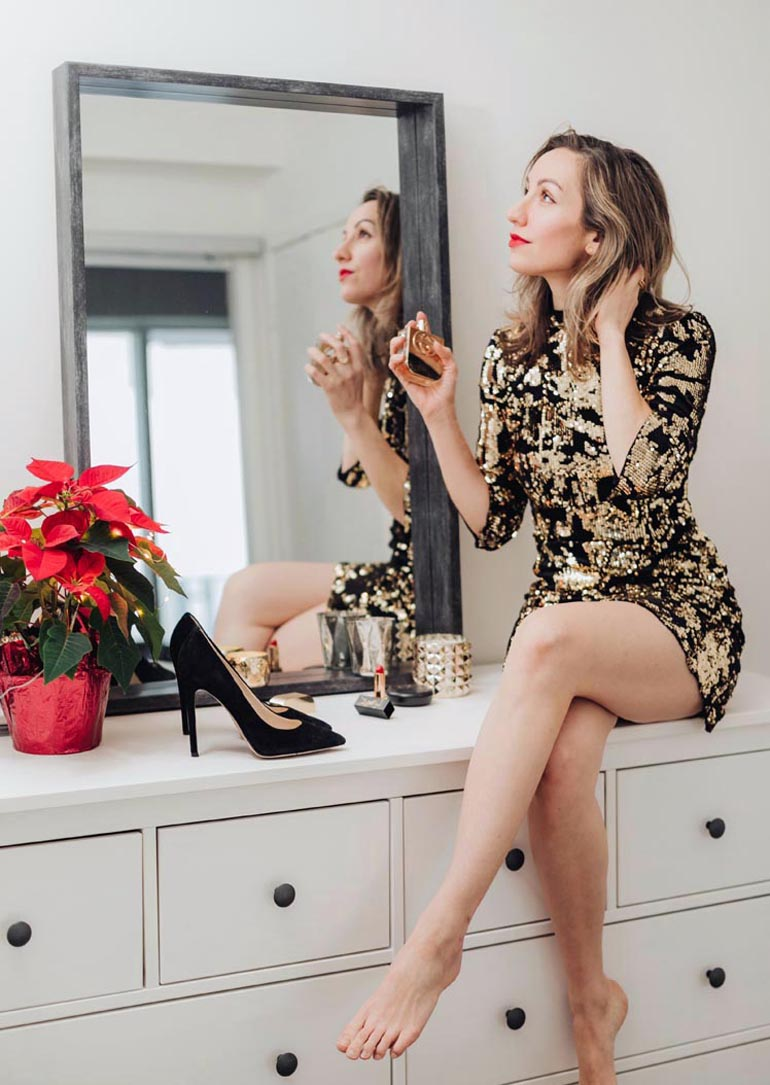 Holiday Style - Shoes to wear with a Holiday Party Dress