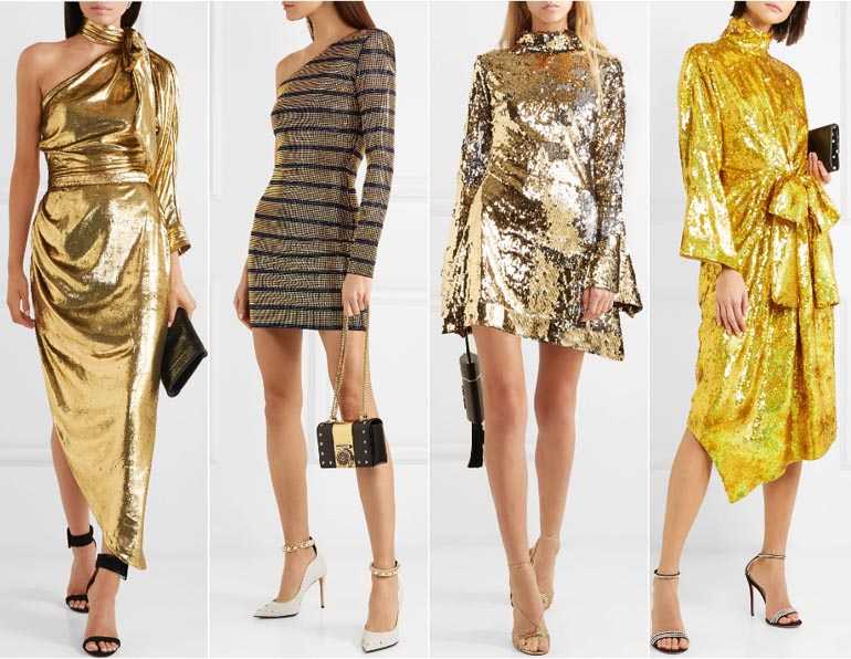 shoes to wear with gold dress cheap online