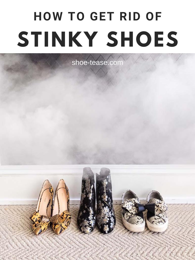 Stinky Shoes - How to Get Rid Of Shoe Odor