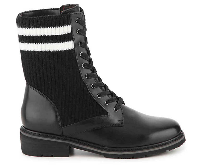 Womens Waterproof Combat Boots - Blondo Vicks