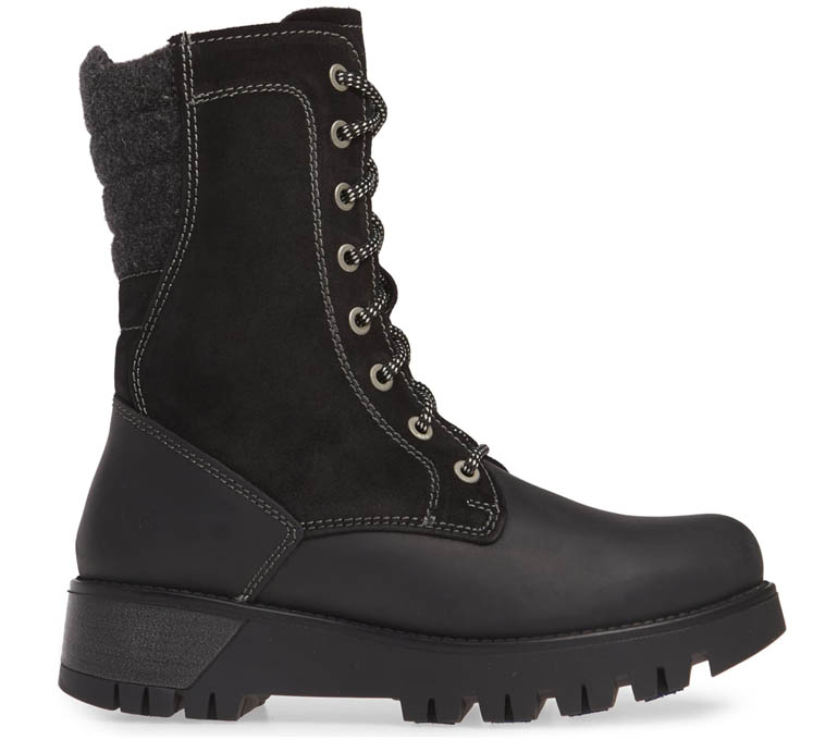 Womens Waterproof Combat Boots - BoS. &Co. Glaxy Prima Insulated