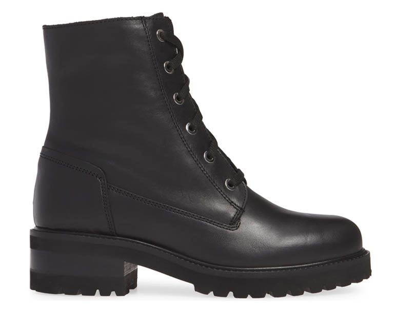 Womens Waterproof Combat Boots -La Canadienne Camille