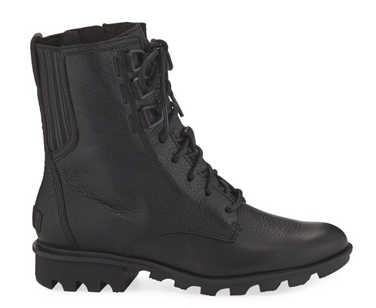 Womens Waterproof Combat Boots - Sorel Phoenix