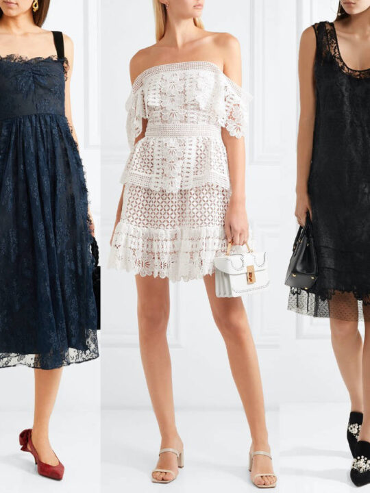 Shoes to Wear with a Lace Dress, any Lace Dress!