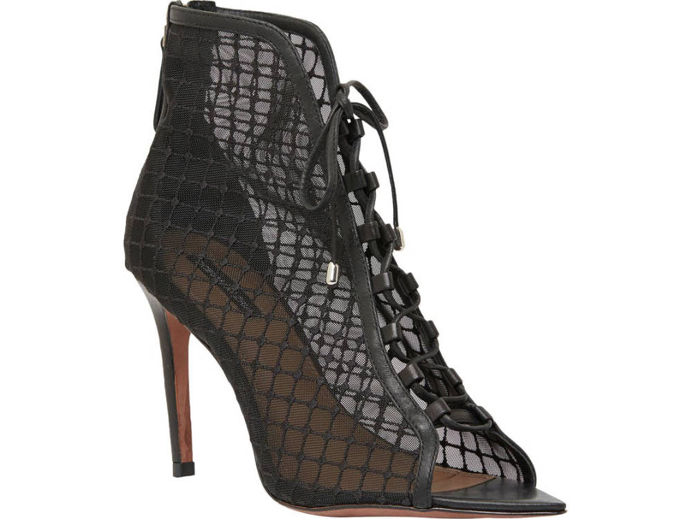 Black Corset Heels Bootie - Different Types of High Heels by ShoeTease.