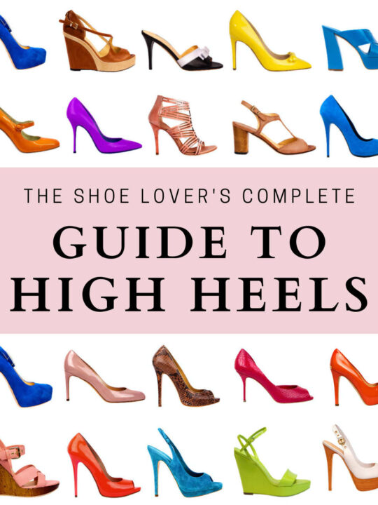 Your Guide to 30+ Different Types of Heels for Women