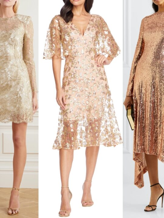 What Color Shoes with a Champagne Dress – 9 Great Options!