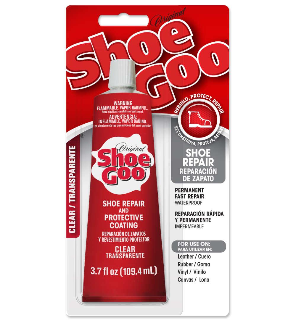 Shoe Goo Shoe Glue for Shoe Repair as best glue for shoes.