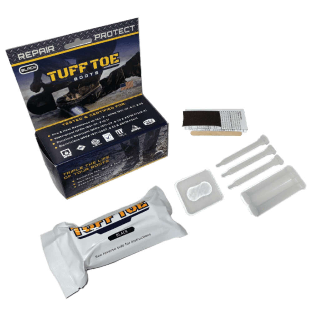 Tuff Toe boot protector guard shoe glue for Shoe Repair as best glue for shoes.