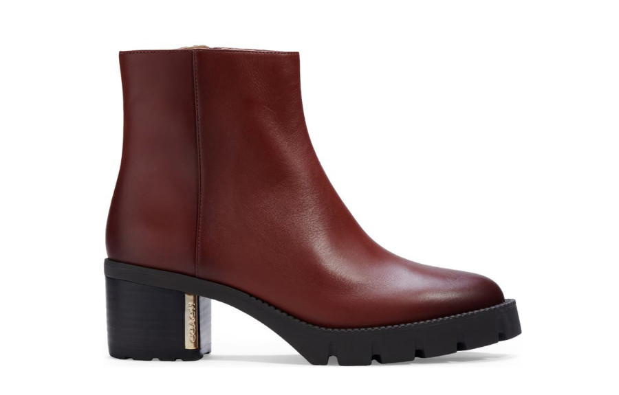 Dark Brown Ankle Boots - Shoes for Women.