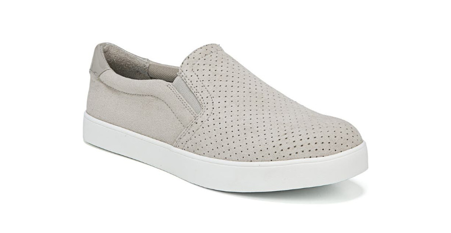 Grey Slip on Sneakers - Types of Shoes for Women.