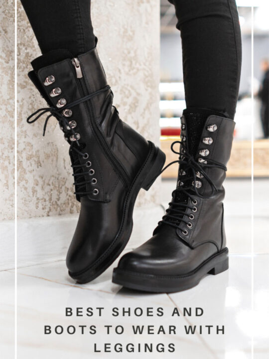 The Best Shoes to Wear with Leggings to be Comfy in Style!